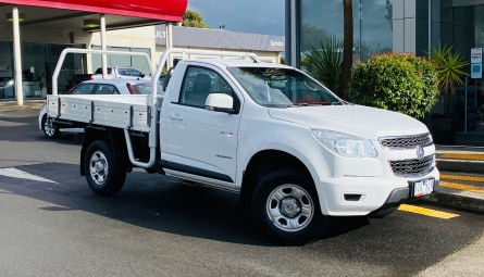 2014  Holden Colorado Lx Cab Chassis Single Cab