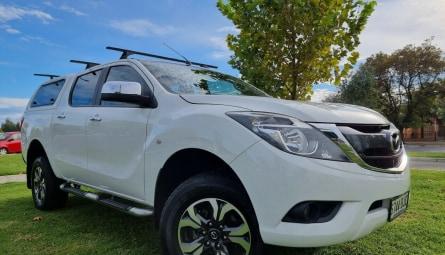 2015  Mazda BT-50 Xtr Utility Dual Cab