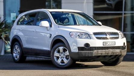 2010  Holden Captiva Sx Wagon