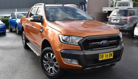 2018  Ford Ranger Wildtrak Utility Double Cab