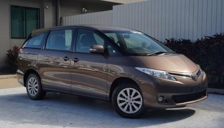 2017  Toyota Tarago Gli Wagon
