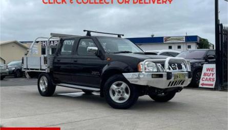 2013  Nissan Navara St-r Utility Dual Cab