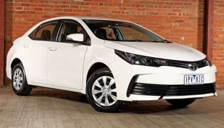2019  Toyota Corolla Ascent Sedan