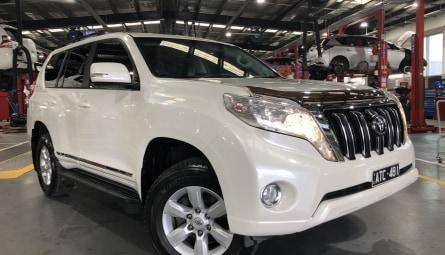 2014  Toyota Landcruiser Prado Altitude Wagon