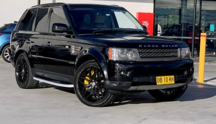 2009  Land Rover Range Rover Sport Super Charged Wagon