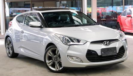 2014 Hyundai Veloster + Coupe