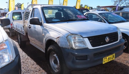 2004  Holden Rodeo Dx Cab Chassis Single Cab