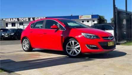 2013 Opel Astra Sport Hatchback