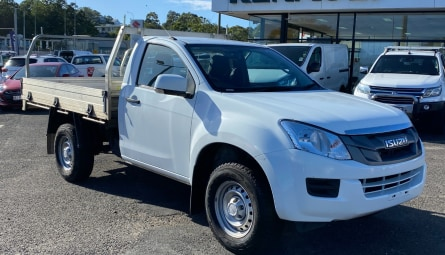2016 Isuzu Ute D-MAX SX High Ride Cab Chassis Single Cab
