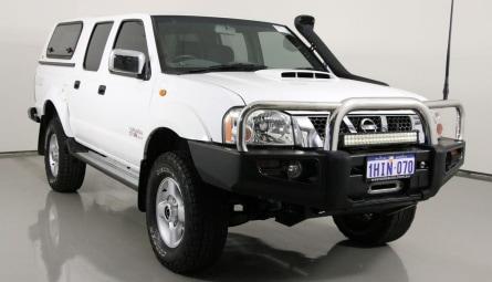 2012  Nissan Navara St-r Utility Dual Cab