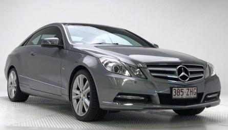2012  Mercedes-Benz E-Class E250 Blueefficiency Avantgarde Coupe