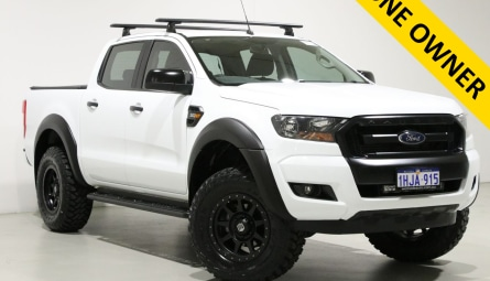 2018  Ford Ranger Xls Utility Double Cab