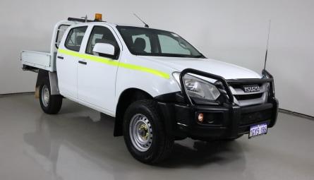 2018  Isuzu D-MAX Sx Cab Chassis Crew Cab