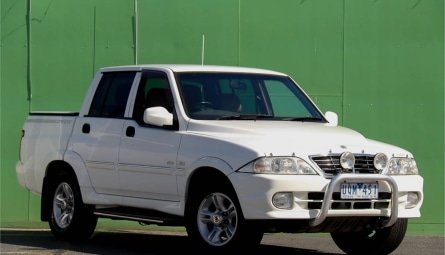2006  SsangYong Musso Sports Utility Dual Cab