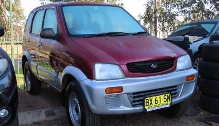1999  Daihatsu Terios Dx Wagon