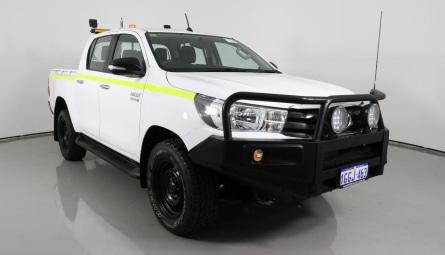 2017 Toyota Hilux SR Utility Double Cab