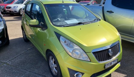2010 Holden Barina Spark CD Hatchback