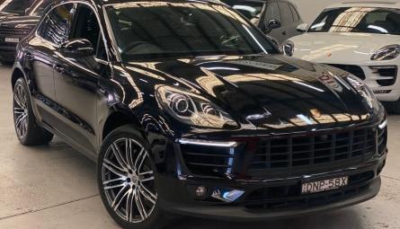 2017  Porsche Macan S Diesel Wagon