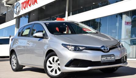 2018  Toyota Corolla Ascent Hatchback