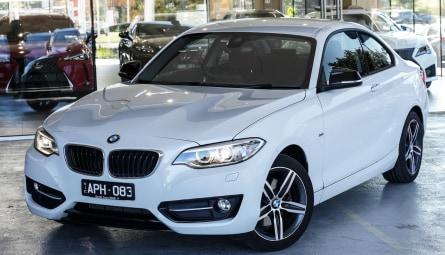 2017  BMW 2 Series 220i Sport Line Coupe