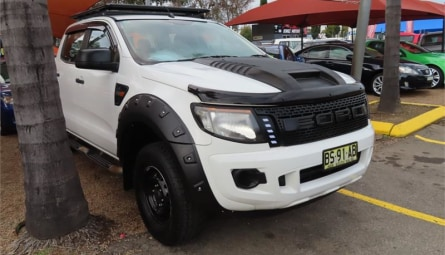 2012  Ford Ranger Xl Utility Double Cab
