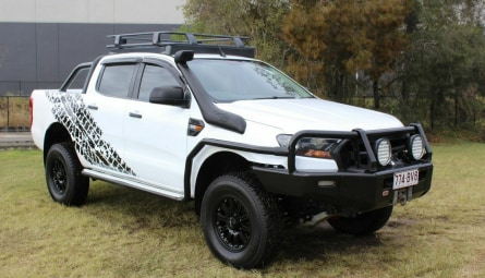2017  Ford Ranger Xl Utility Double Cab