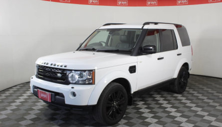 2013 Land Rover Discovery 4 SDV6 HSE Wagon