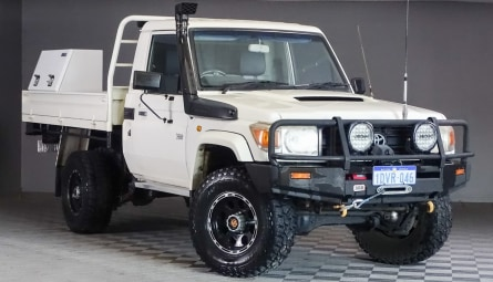 2008  Toyota Landcruiser Workmate Cab Chassis Single Cab