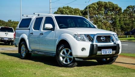 2014 Nissan Navara ST Utility Dual Cab