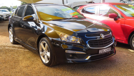 2015 Holden Cruze SRi-V Hatchback