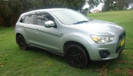 2012 Mitsubishi ASX Platinum Wagon