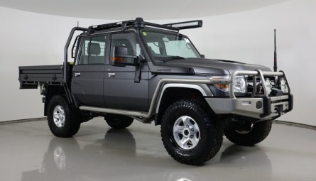 2020  Toyota Landcruiser Gxl Cab Chassis Double Cab