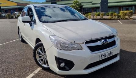 2014  Subaru Impreza 2.0i-l Sedan