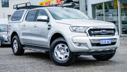 2017  Ford Ranger Xlt Utility Double Cab
