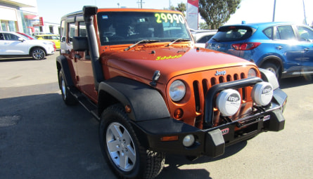 2011  Jeep Wrangler Unlimited Sport Softtop