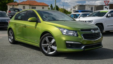 2016 Holden Cruze SRi Z-Series Hatchback
