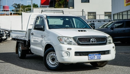 2011 Toyota Hilux SR Cab Chassis Single Cab