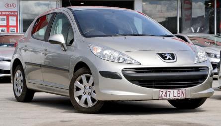 2007 Peugeot 207 XT Hatchback