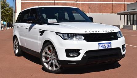 2015 Land Rover Range Rover Sport SDV8 HSE Dynamic Wagon