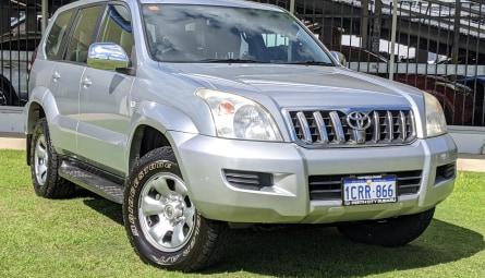 2007 Toyota Landcruiser Prado GX Wagon