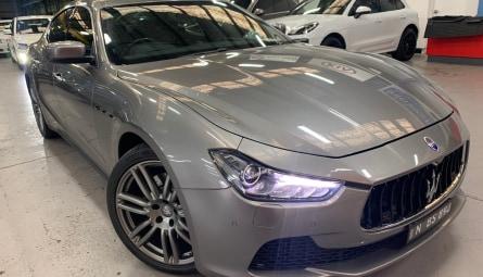 2015  Maserati Ghibli S Sedan