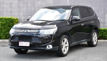 2013 Mitsubishi Outlander Aspire Wagon