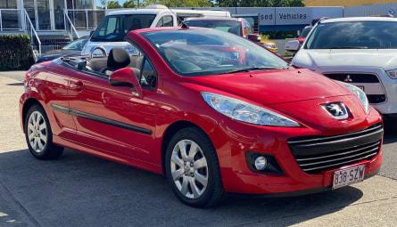 2011  Peugeot 207 Cc Cabriolet