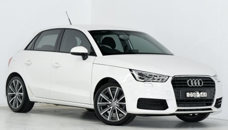 2017 Audi A1Sportback