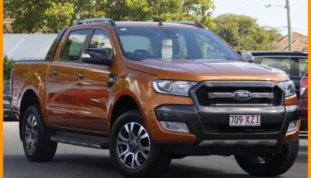 2017 Ford Ranger Wildtrak Utility Double Cab