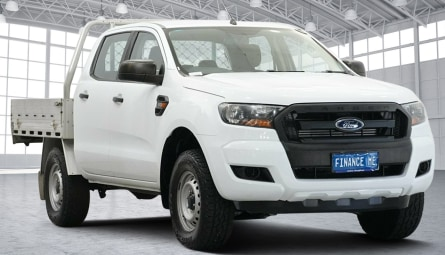 2017  Ford Ranger Xl Hi-rider Cab Chassis Double Cab