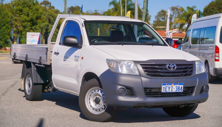 2014  Toyota Hilux Workmate Cab Chassis Single Cab