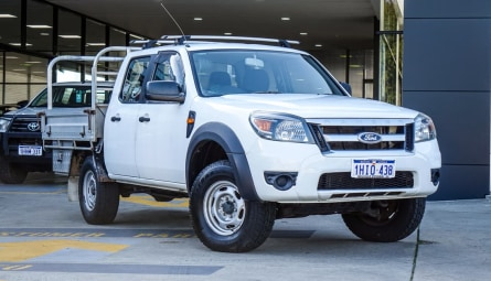 2010  Ford Ranger Xl Cab Chassis Crew Cab