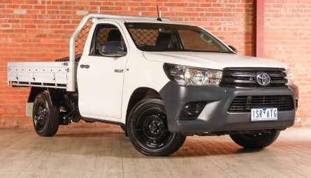 2016  Toyota Hilux Workmate Cab Chassis Single Cab