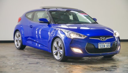 2011  Hyundai Veloster + Coupe